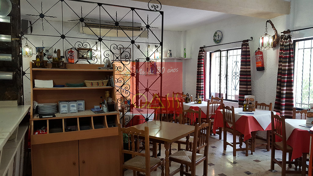 Excellent oportunity for investment near the entrance of the Alhambra - The bar
