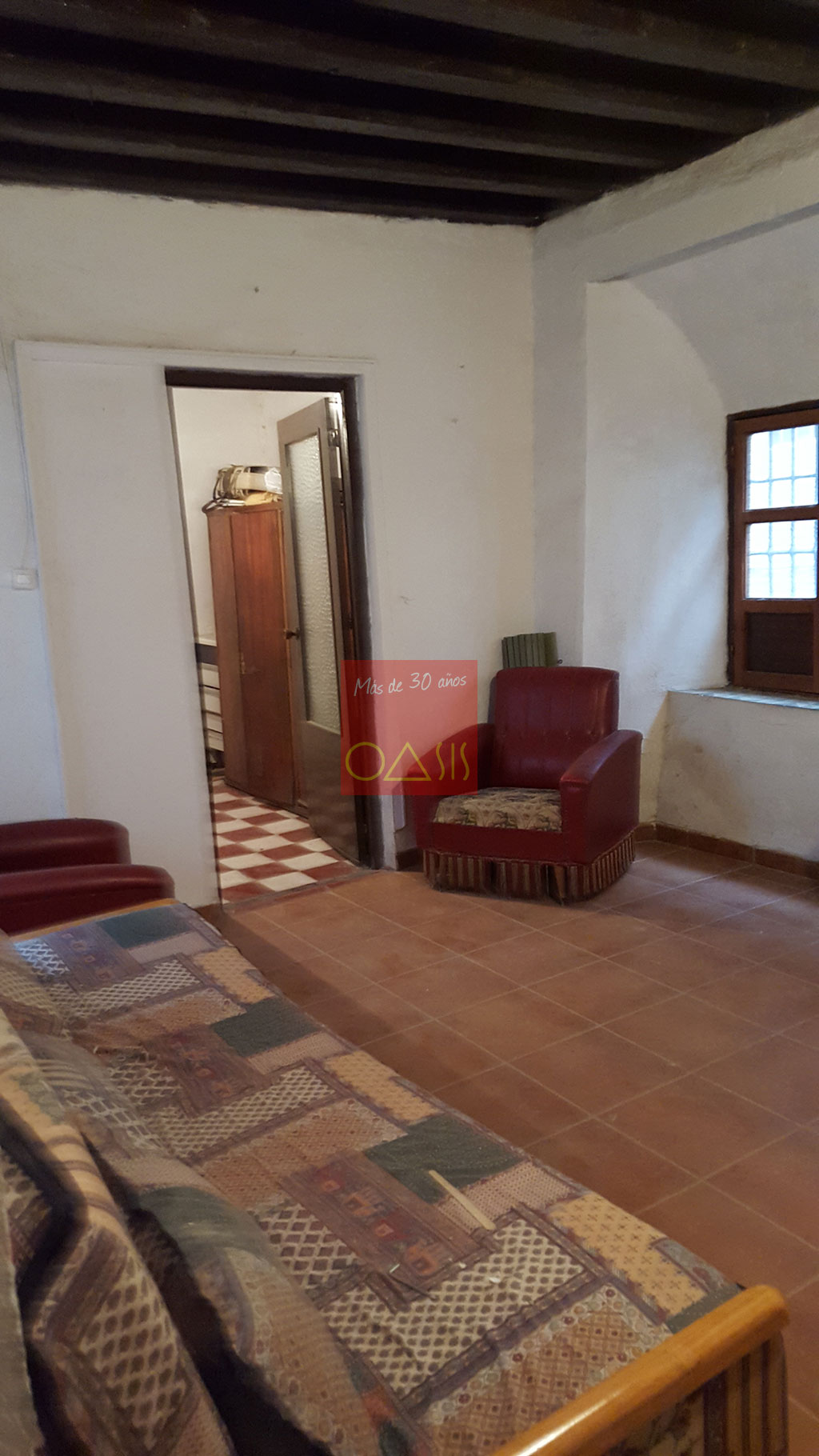 Partially restored interior -  - Wonderful and ample house on sale in lower Albayzín - Oasis Real Estate, more than 30 years in the Albayzín