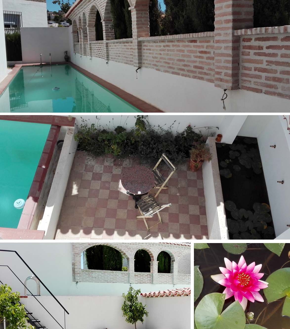 Piscina y patio