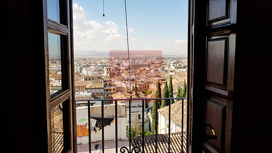 Wonderful and sunny house in the historical center of Granada - Inmobiliaria Oasis